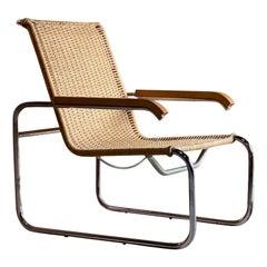 Marcel Breuer B35 Lounge Chair Armchair Thonet, circa 1940s