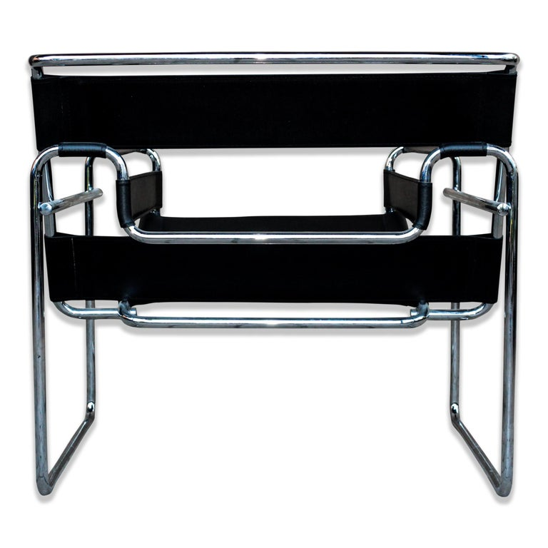 Marcel Breuer Bauhaus Black Leather