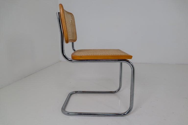 20th Century Marcel Breuer Bauhaus Cesca Dining Room Chairs, 1970s, Set of 24
