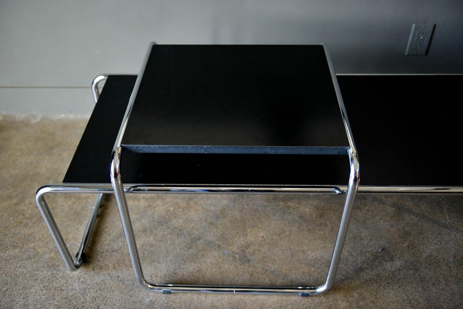 Marcel Breuer Bauhaus Laccio Coffee Tables For Knoll For Sale At