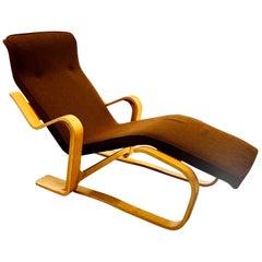 Marcel Breuer Bent Wood Long Chair by Isokon, 1960s