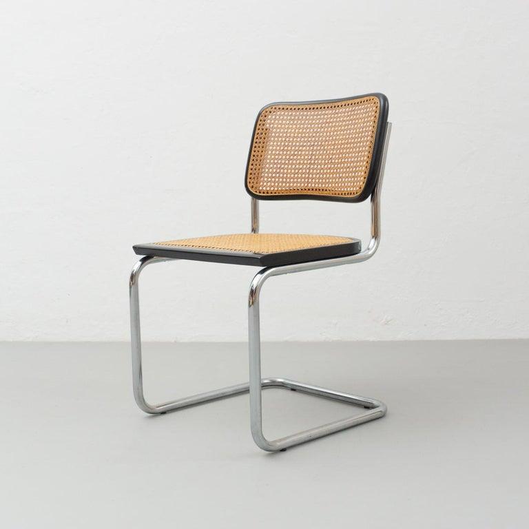 Mid-Century Modern Marcel Breuer Cantilever Chair, circa 1960 For Sale
