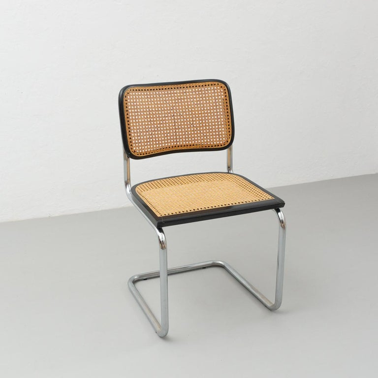 Metal Marcel Breuer Cantilever Chair, circa 1960 For Sale