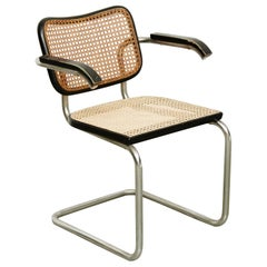 Marcel Breuer Cesca Chair for Gavina, circa 1980