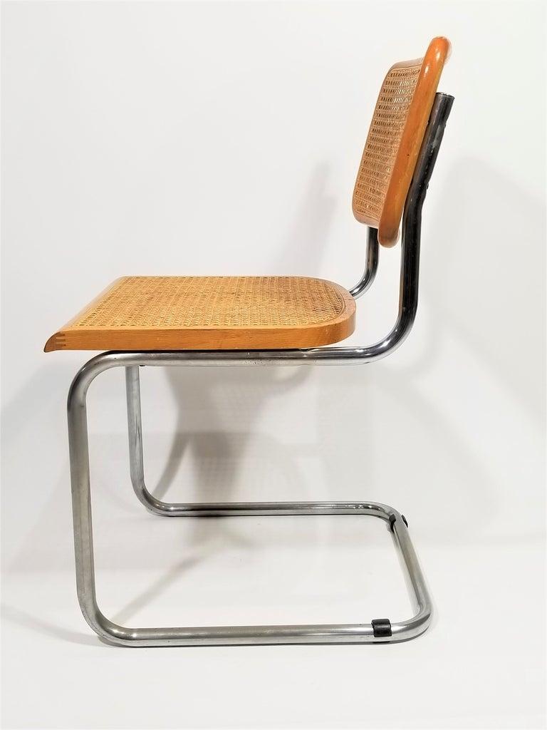 Marcel Breuer Cesca Side Chair, 1970s For Sale 4