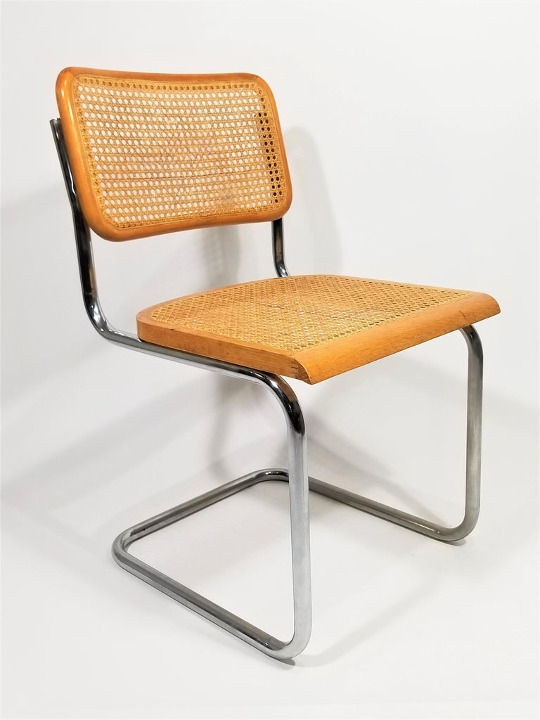 Marcel Breuer Cesca Side Chair, 1970s For Sale 6