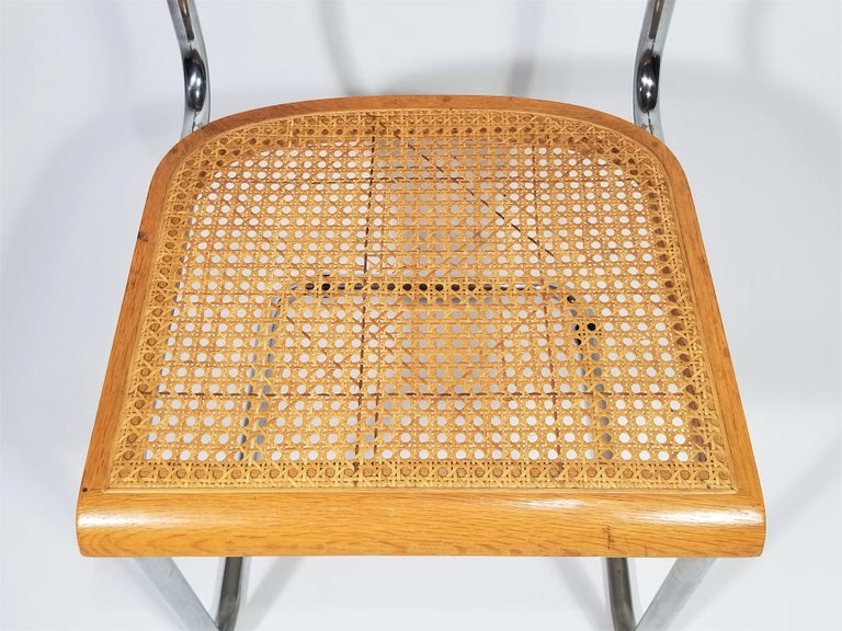 Wood Marcel Breuer Cesca Side Chair, 1970s For Sale
