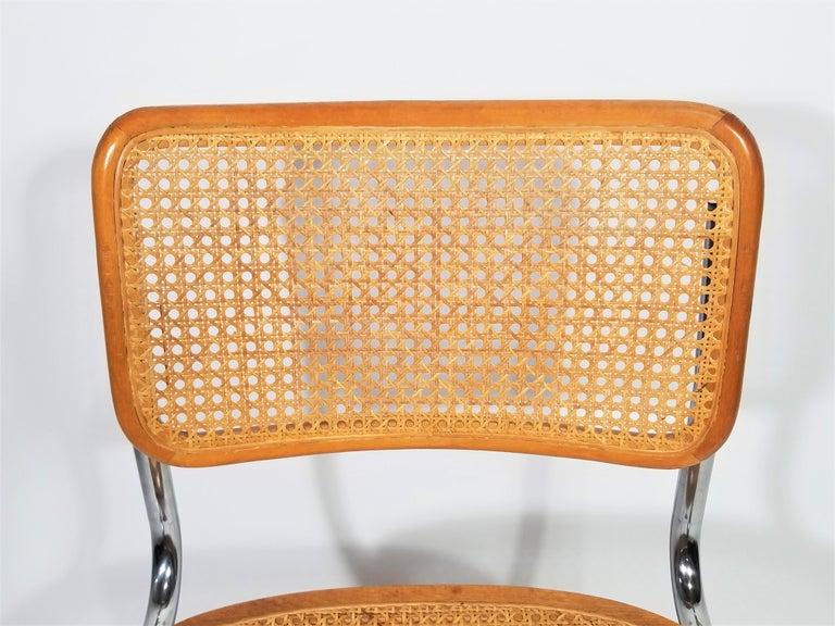 Marcel Breuer Cesca Side Chair, 1970s For Sale 1