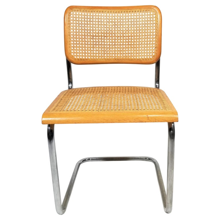 Marcel Breuer Cesca Side Chair, 1970s For Sale