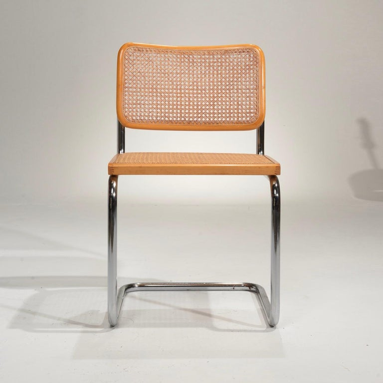 Modern Marcel Breuer Cesca Side Chairs For Sale