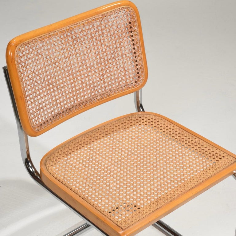 Early 20th Century Marcel Breuer Cesca Side Chairs For Sale