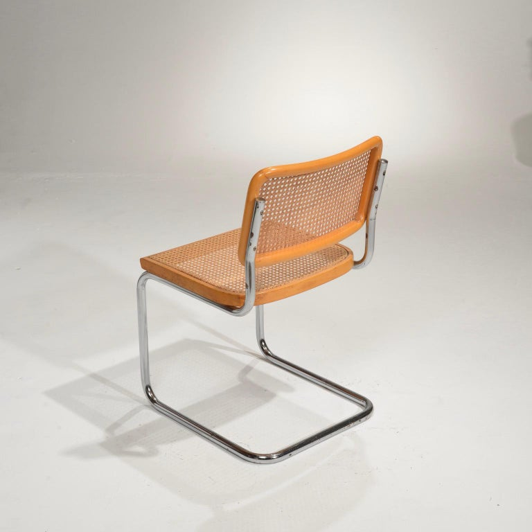 Marcel Breuer Cesca Side Chairs For Sale 1