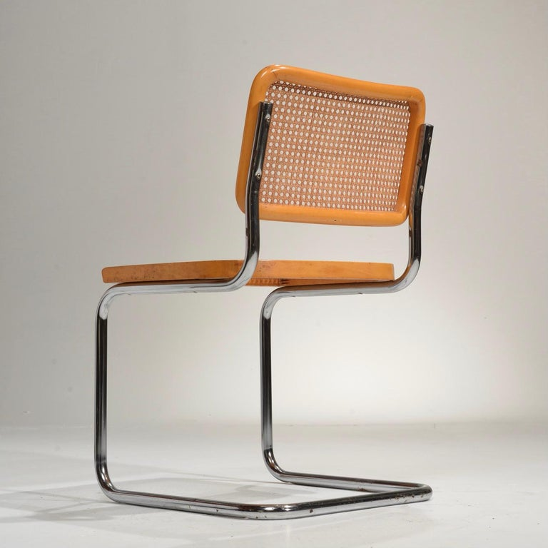 Marcel Breuer Cesca Side Chairs For Sale 2
