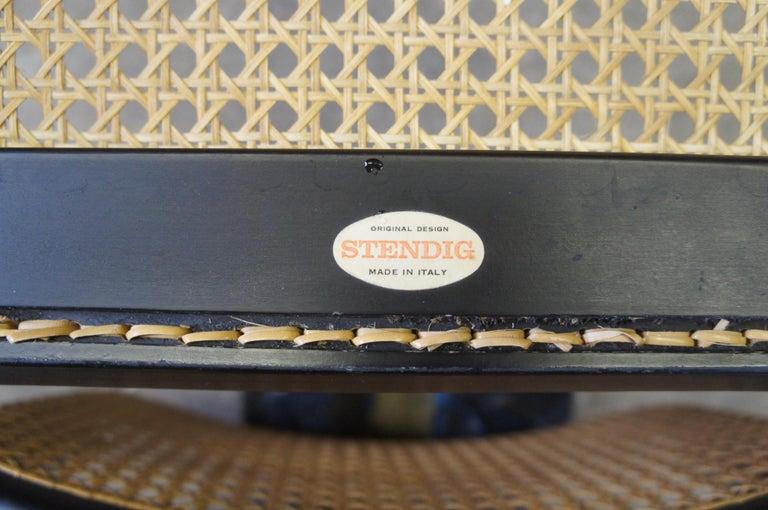 Marcel Breuer Cesca Stendig Mid Century Italian Caned Chrome Side Chair Thonet For Sale 4