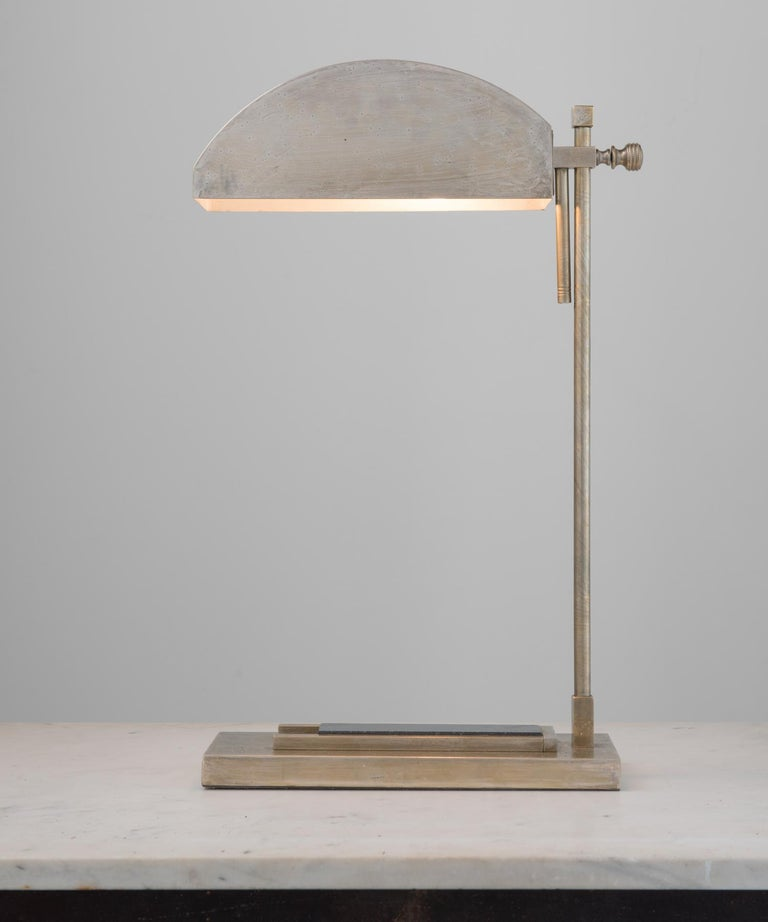Modern Marcel Breuer Desk Lamp, Germany, circa 1925 For Sale