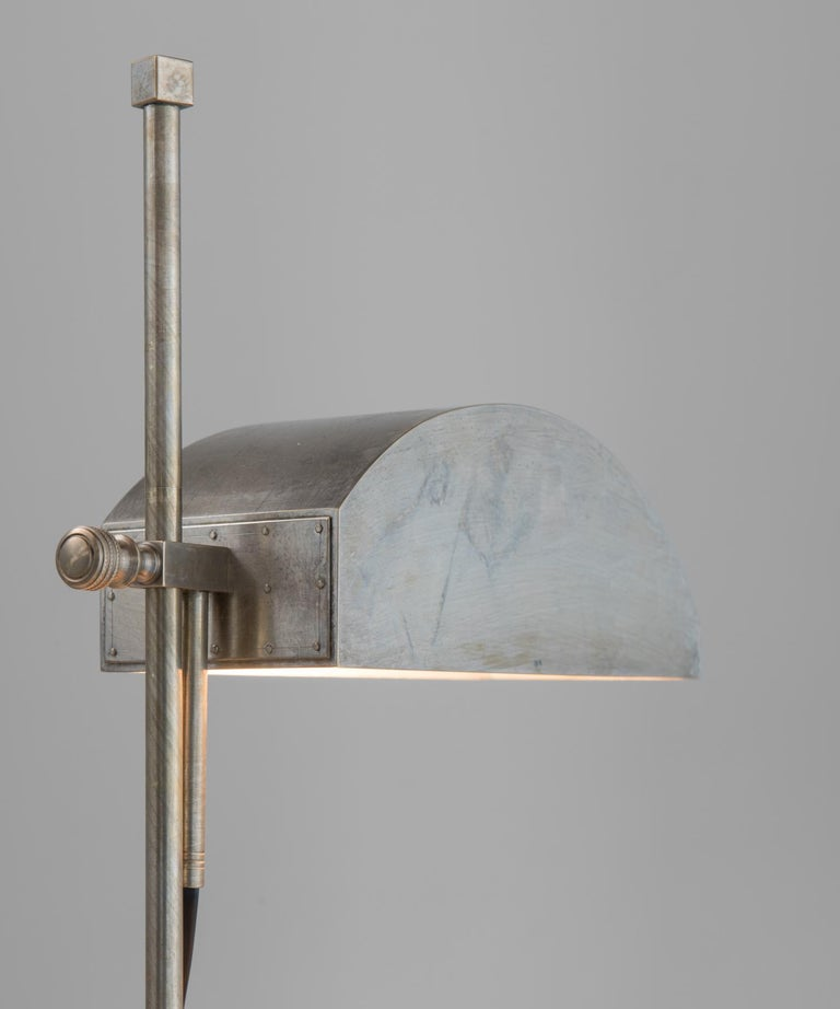 Marcel Breuer Desk Lamp, Germany, circa 1925 In Good Condition For Sale In Culver City, CA