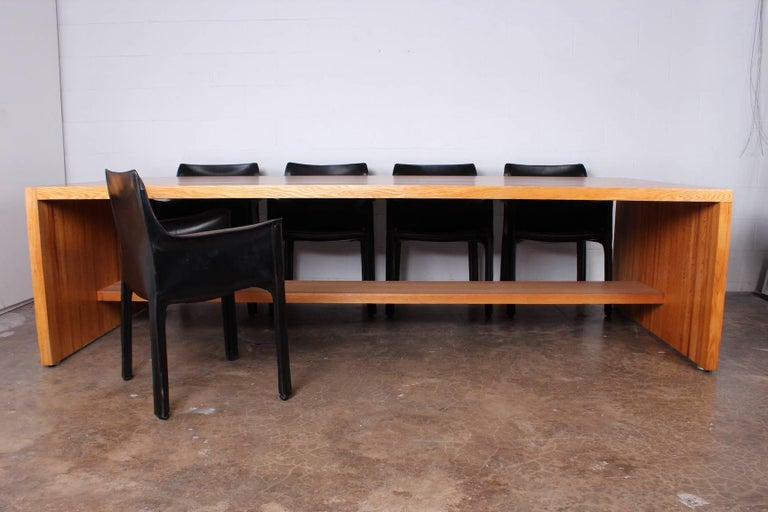 Marcel Breuer Dining or Conference Table for API, 1979 2