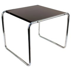 Marcel Breuer for Gavina Modern Laccio Side Table