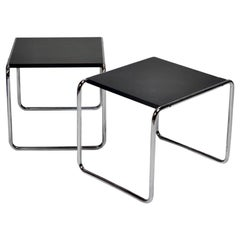 Marcel Breuer for Gavina Modern Laccio Side Tables