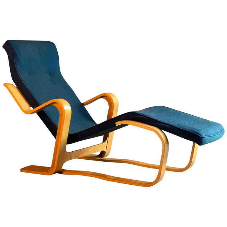 Marcel Breuer Long Chair by Isokon, circa 1970