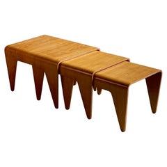 Marcel Breuer Nesting Tables for Isokon Design, 1936