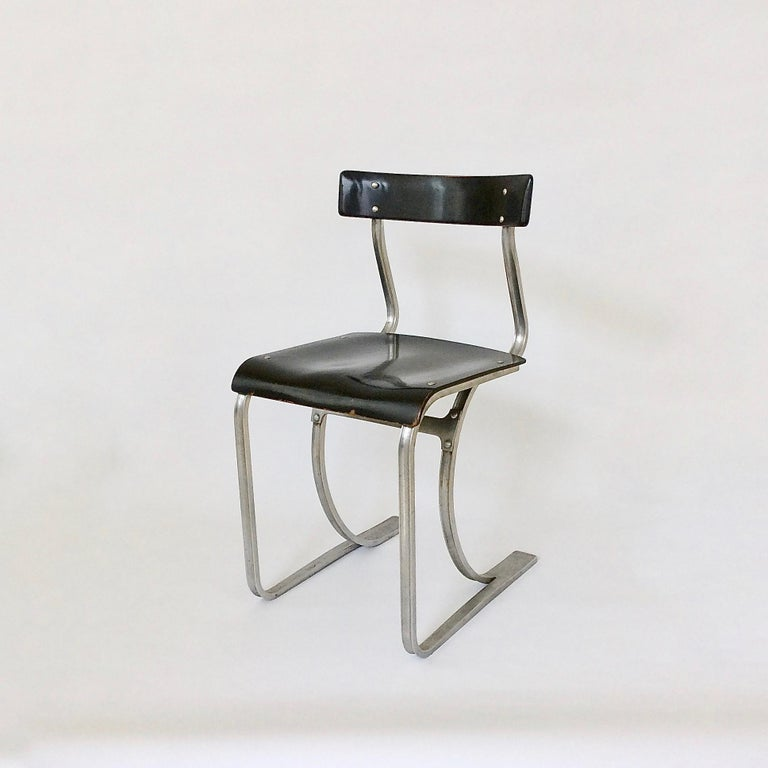 Marcel Breuer Rare Aluminium Chair, circa 1932 16
