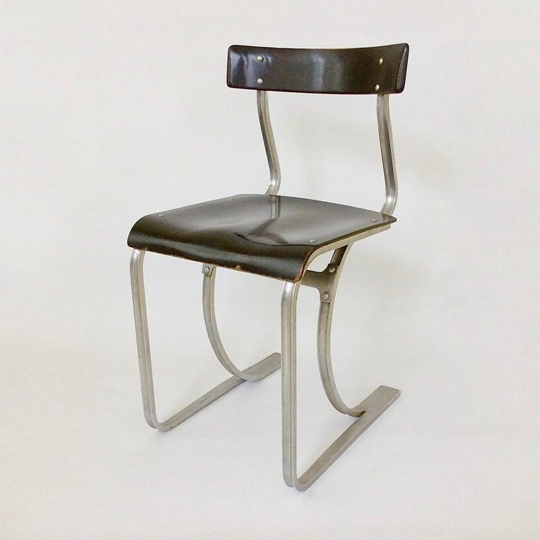 Marcel Breuer Rare Aluminium Chair, circa 1932 2