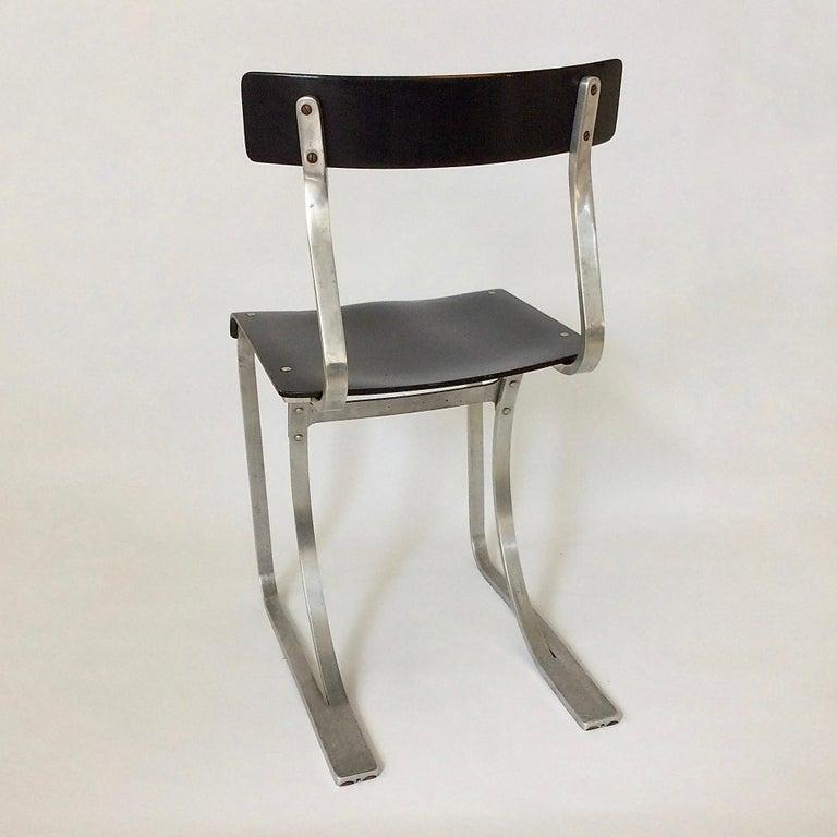 Marcel Breuer Rare Aluminium Chair, circa 1932 3