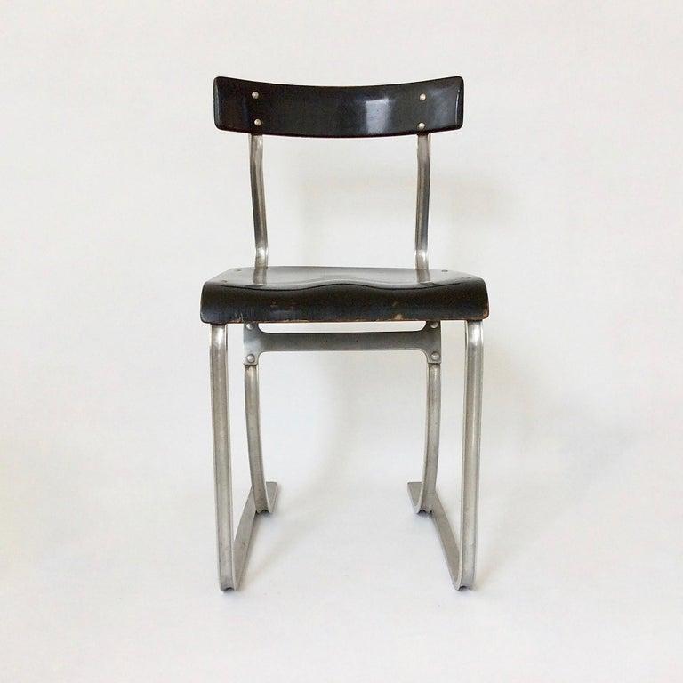 Marcel Breuer Rare Aluminium Chair, circa 1932 6