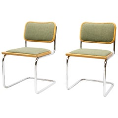 Marcel Breuer S32 Cantilever Chairs