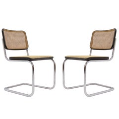 Marcel Breuer S32 Side Chairs, 1977