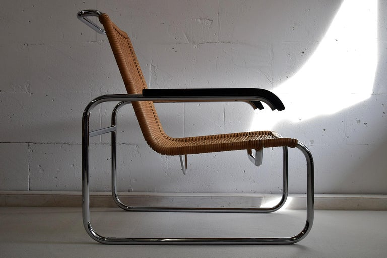 Marcel Breuer S35 Bauhaus Club Chair for Thonet For Sale 3