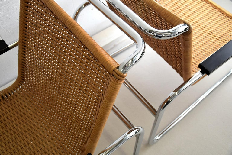 Mid-20th Century Marcel Breuer S35 Bauhaus Club Chair for Thonet For Sale