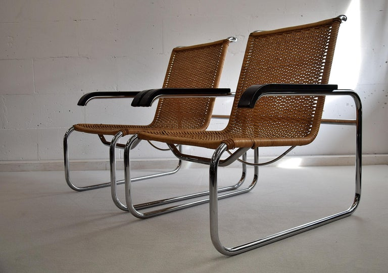 Marcel Breuer S35 Bauhaus Club Chair for Thonet For Sale 2