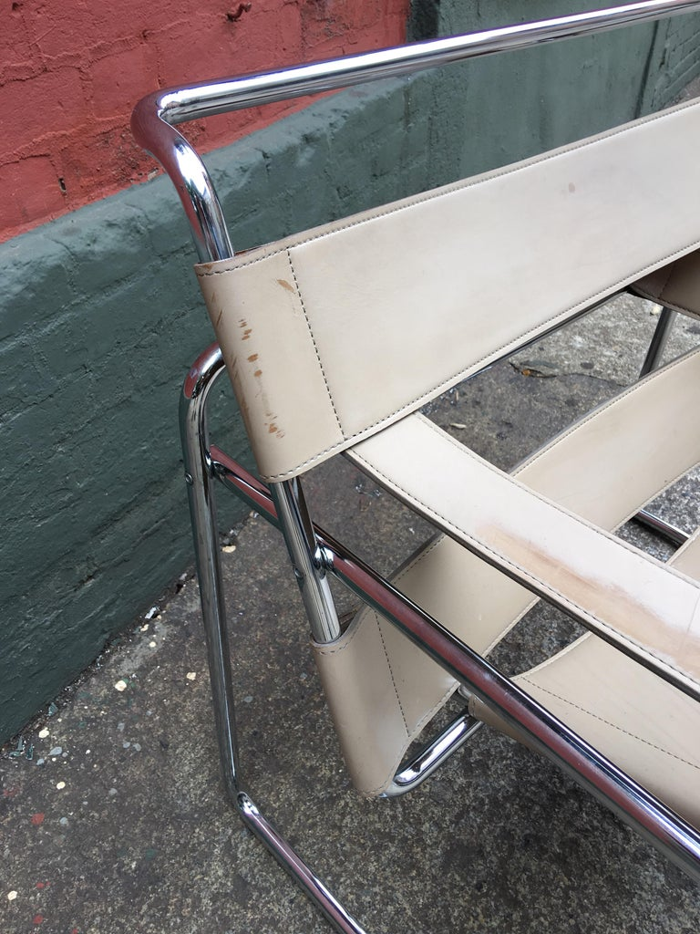 Marcel Breuer Wassily Chair In Good Condition For Sale In Philadelphia, PA