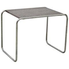 Marcel Breuer Wood and Steel Table by Gavina, circa 1960