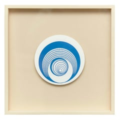 Marcel Duchamp Escargot Rotorelief Konig Series 133, 1987