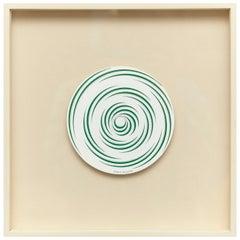 Marcel Duchamp Espirale Blanche Rotorelief Konig Series 133, 1987