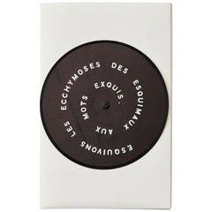 Marcel Duchamp 'Esquivons Les Ecchymoses Des Esquimaux Aux Mots Exquis' 1968