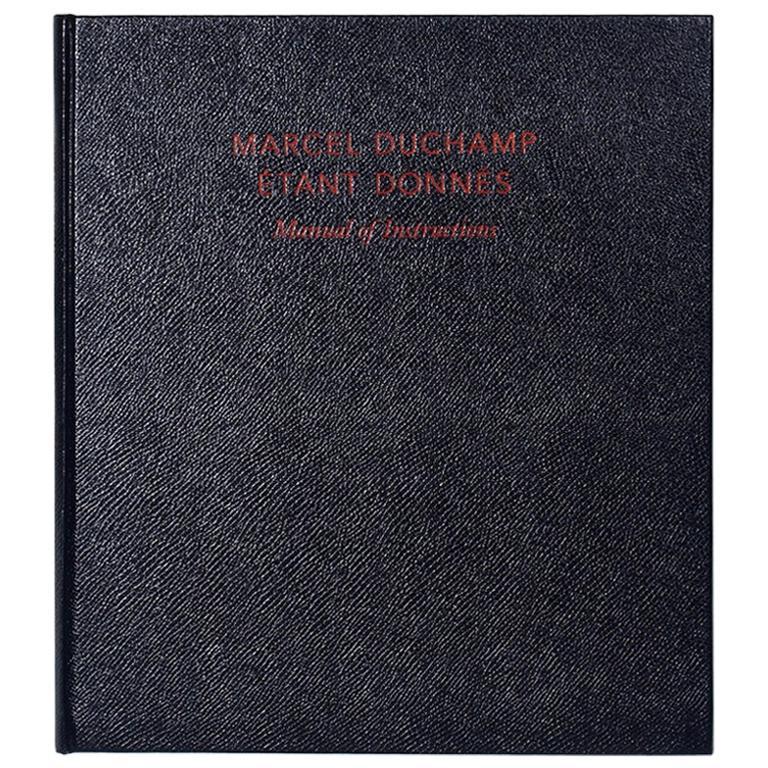 Marcel Duchamp Etant Donnes, Manual of Instructions, Revised Edition 2009 For Sale