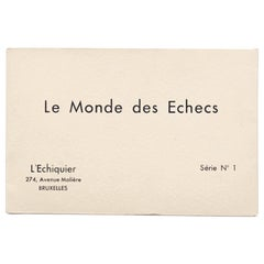 Marcel Duchamp / Man Ray 'Le Monde des Echecs' Portfolio