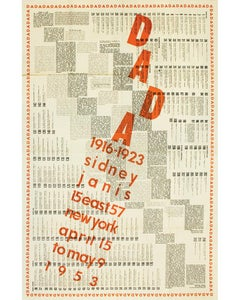 International DADA Exhibition 1916-1923.