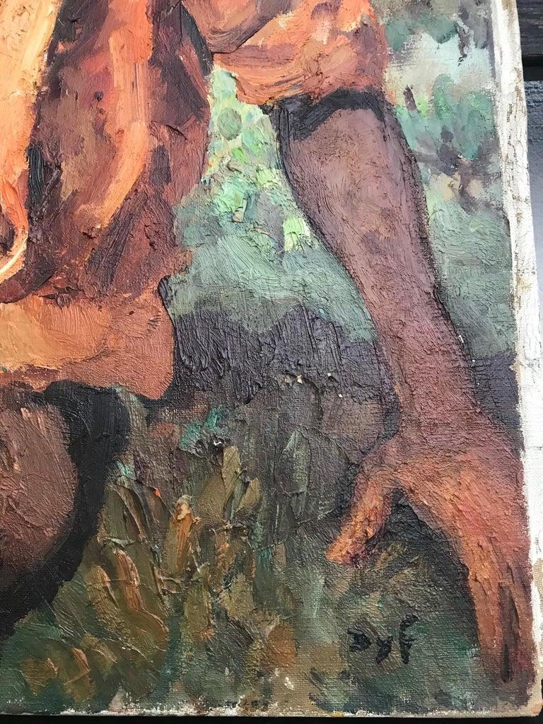 Marcel Dyf (Dreyfuss) Le Gitan, the Gypsy, 1899-1985 For Sale 3