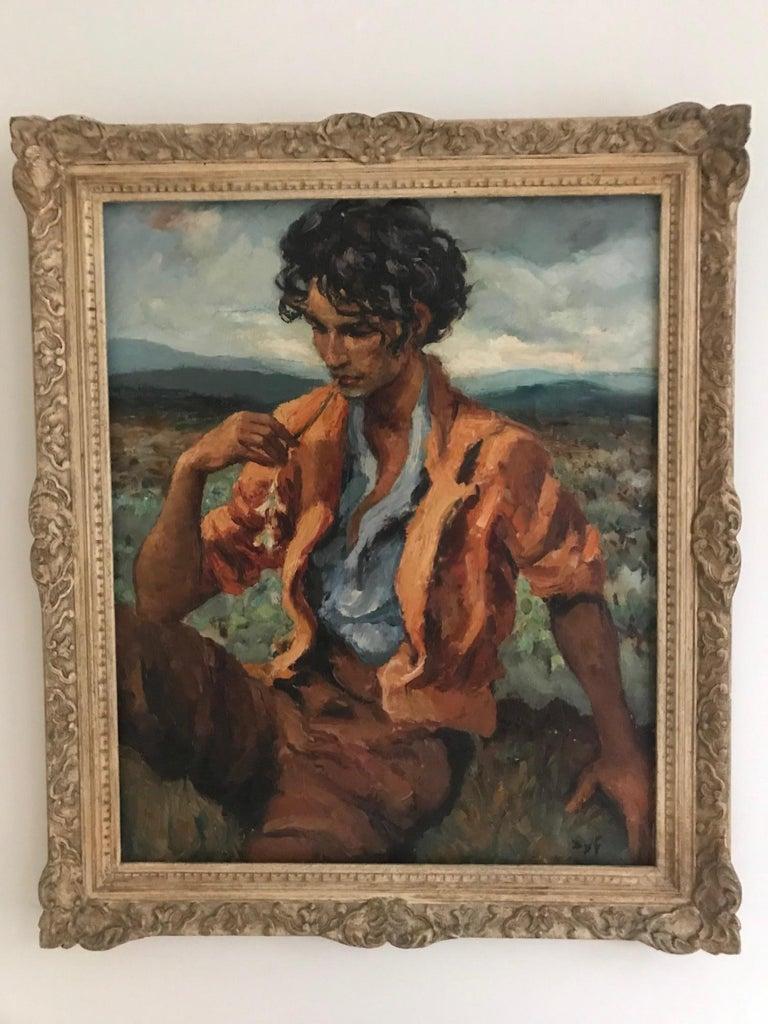 French Marcel Dyf (Dreyfuss) Le Gitan, the Gypsy, 1899-1985 For Sale