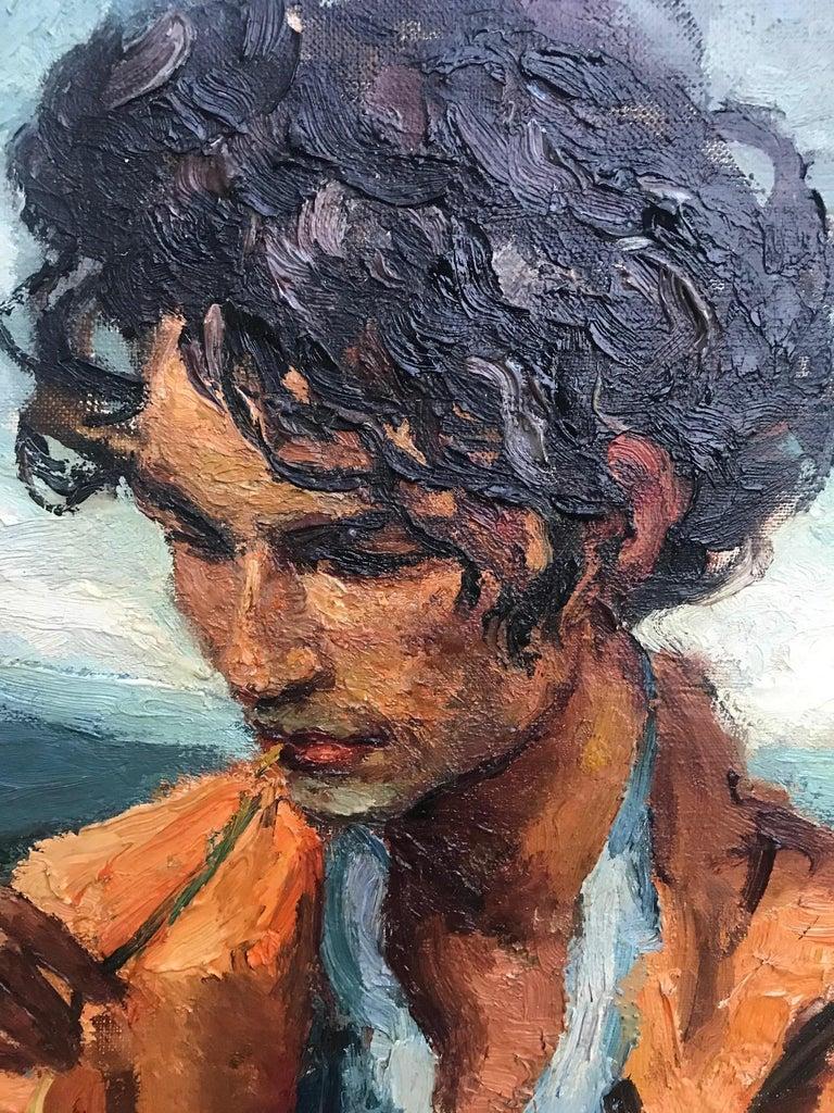 20th Century Marcel Dyf (Dreyfuss) Le Gitan, the Gypsy, 1899-1985 For Sale