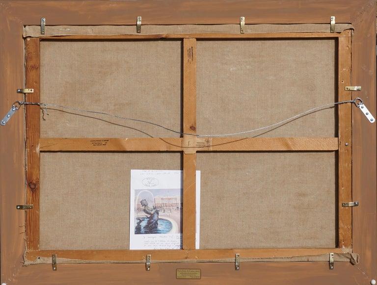 """Paint Marcel Dyf  """"Place De la Concorde"""" For Sale"""