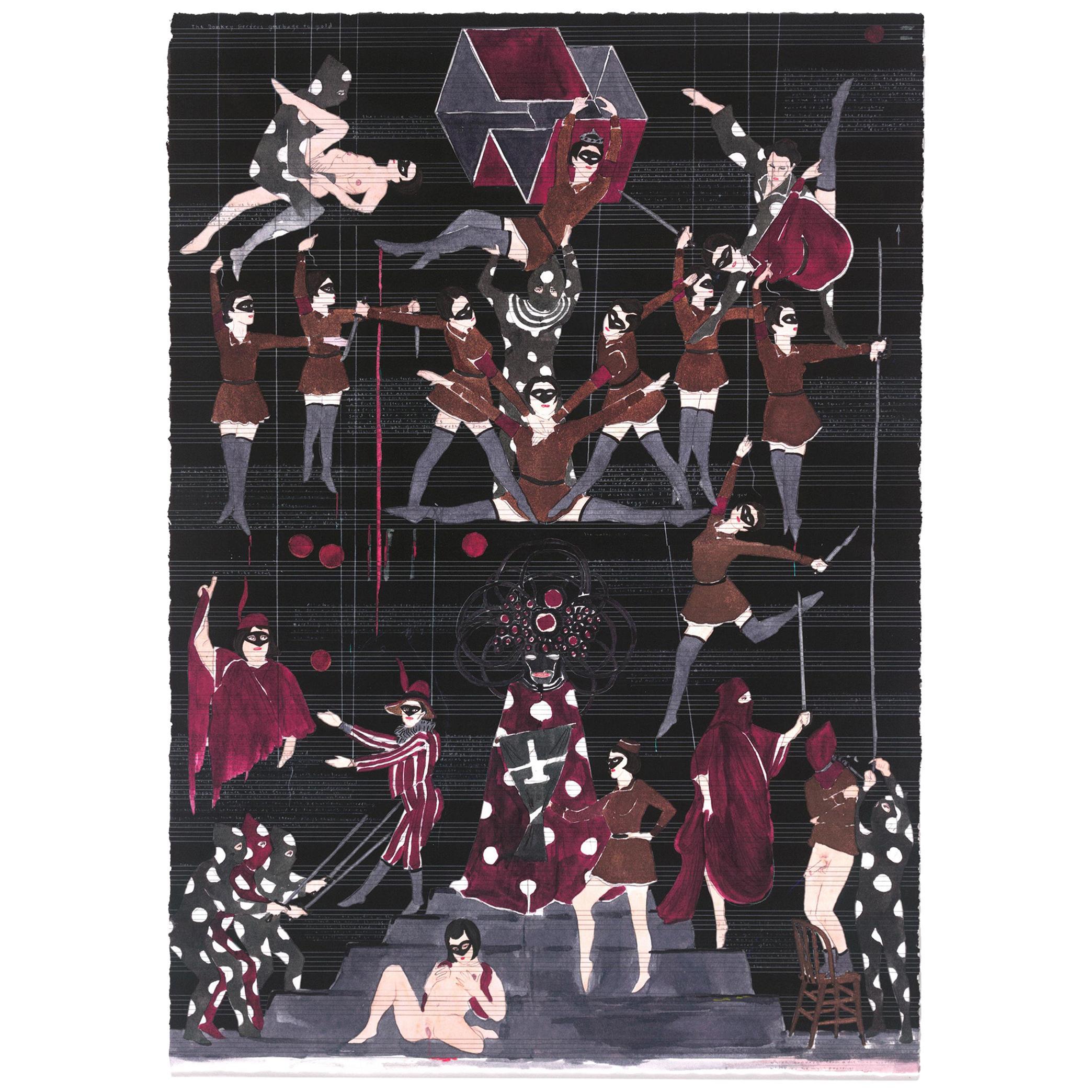 Marcel Dzama Where All Harmonies are Tuned Limited Edition Print