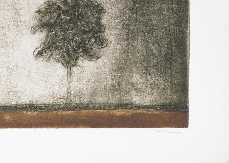 Un Arbre - Original Etching by Marcel Fiorini - Late 20th Century 1