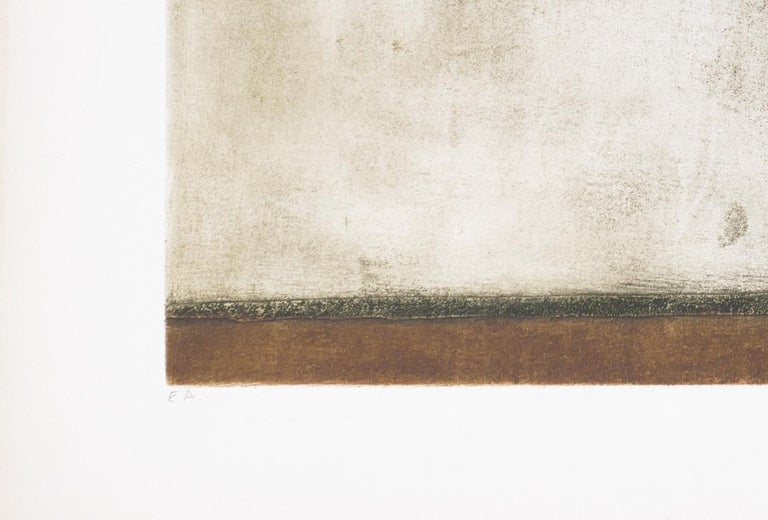 Un Arbre - Original Etching by Marcel Fiorini - Late 20th Century 2