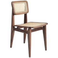 Marcel Gascoin C-Chair Dining Chair in American Walnut